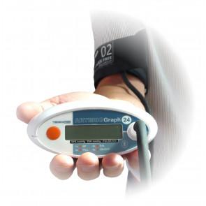 Pulswellenanalyse arterioGRAPH (optional mit 24 Stunden-Aufzeichnung)